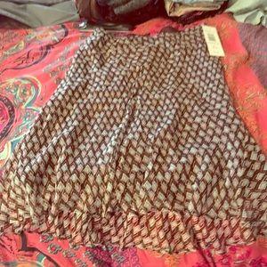 Sunny Leigh XL midi skirt